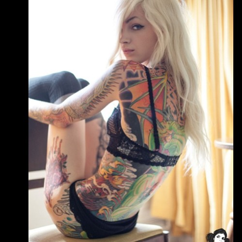 Retrovertigo by @darryldarko now in review on @suicidegirls - @spookypatton- #webstagram