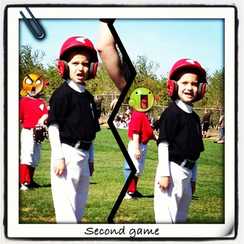 Sunny days of T-ball #tball #dj #fun #instacollage #love @kuulleii @xoxstephanie