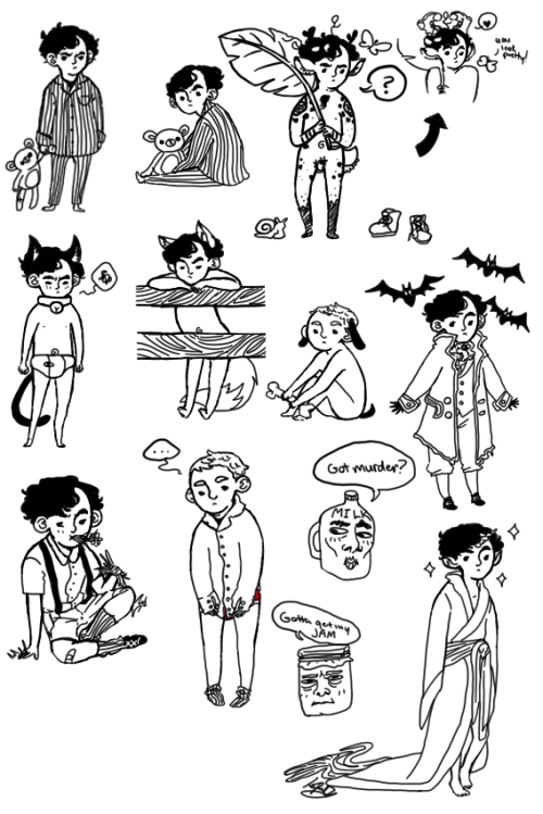 invisiblesarcasm:  BUTTLOADS OF LIVESTREAM DOODLES @__@  This was tons of fun to watch. THANK YOU FOR DOING MY RED PANTS MONDAY REQUEST ♥