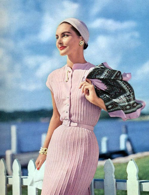 1955 knit fashion.