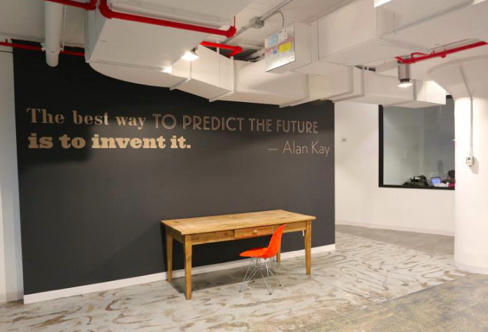 Toronto brand of incubator opens in NYC, centre for social innovation, May 2013.