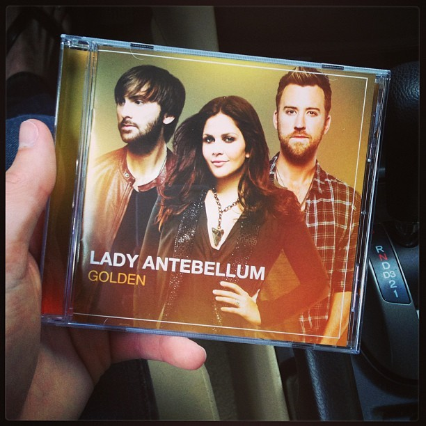 Little present to myself today #music #ladyantebellum @hillaryscottla #ladya #golden #downtown