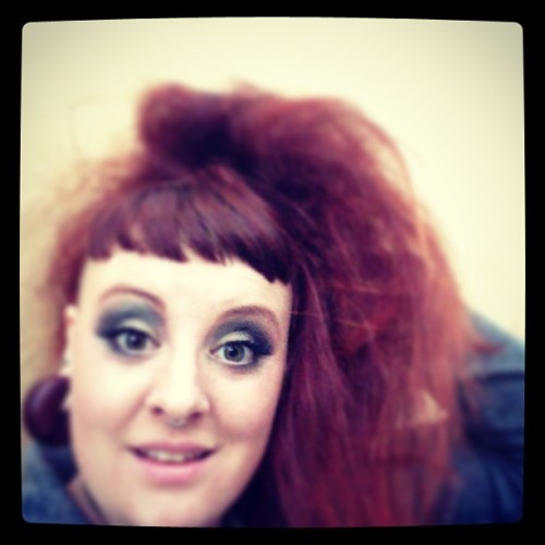 Old school #stripper #drag #bighairdontcare