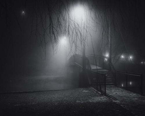colintgallagher:  Bellefonte Foggy Night #3 on Flickr. 2013 Facebook | Twitter | Tumblr | Etsy | Flickr