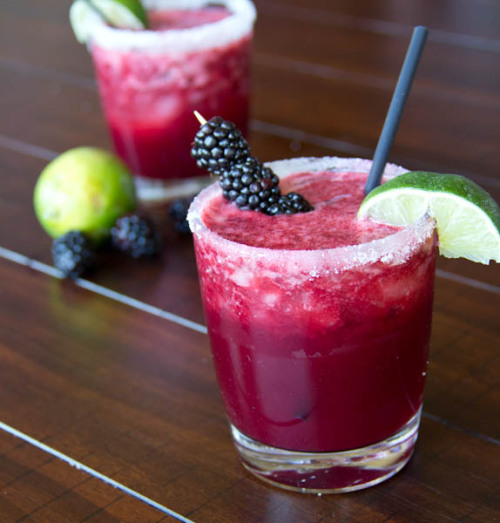 skinny blackberry margaritas click here for recipe