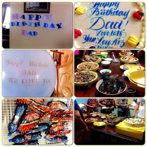 Happy birthday dad! We love you lots! @theresetolentino @zhashai