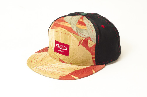 "skullsbcn:  The Summer'13 ""Red Suede"" 6 panel hybrid by SKULLS. July drop. Super soft printed suede. Made in USA. Stop crying.  NEED"