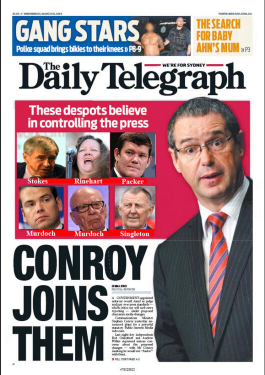 Great job @Geeksrulz for fixing today's Daily Telegraph Front Page