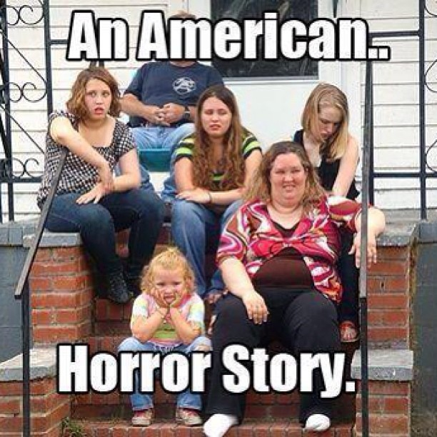 badboyredneck:  Sums it up . #honeybooboo #trash #dolla #makemeholla #horror #thetruth #redneck #why #god #why by tyvuitton http://instagr.am/p/Ufs4pUt1BJ/