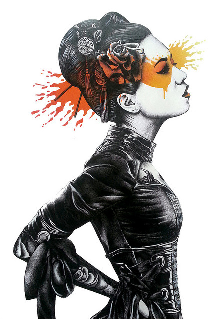 Nadeshiko - poster version by Fin DAC on Flickr.