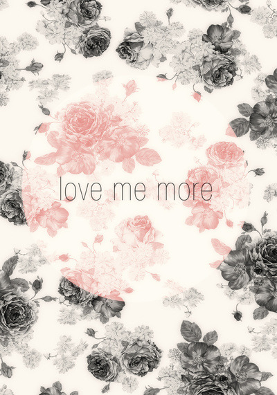 betype:  Love Me More Stretched Canvas by Three Lives Left