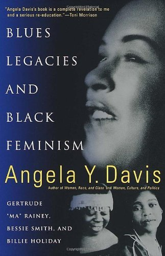 "soulbrotherv2:  Blues Legacies and Black Feminism: Gertrude ""Ma"" Rainey, Bessie Smith, and Billie Holiday by Angela Y. Davis The author of Women, Race and Class suggests that ""Ma"" Rainey, Bessie Smith, and Billie Holiday represent a black working-class, feminist ideology and historical consciousness. Davis' illuminating analysis of the songs performed by these artists provides readers with a compelling and transformative understanding of their musical and social contributions and of their relation to both the African-American community and American culture. of photos."