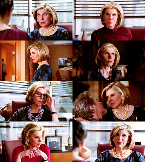 Diane Lockhart appreciation blog, Christine Baranski appreciation life.