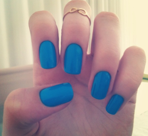 Dope nails of the day ;) Anyone else ready for summer?