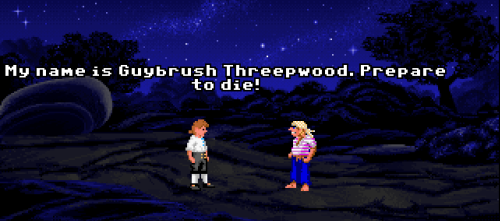 ohbabyitslucasarts:  Stop what you're doing and learn how to fight like a pirate now.™