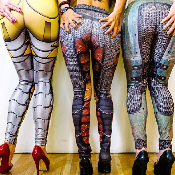 Mitmunk leggings campaign mitmunk.com #mitmunk #leggings #art #robots #gaming #gamers #fashion by Fireboy creative