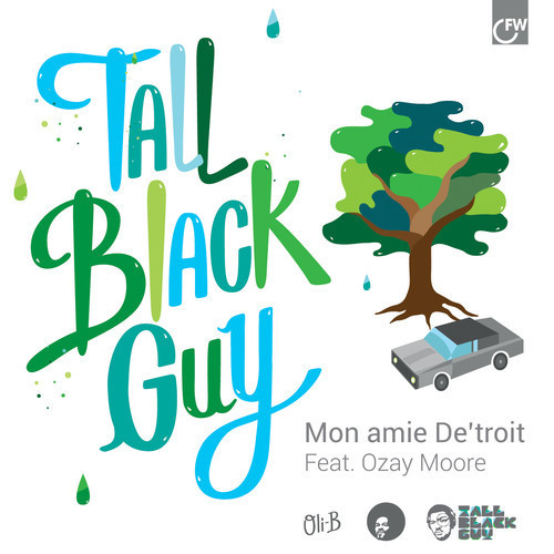 "thoughts-of-a-hip-hop-junkie:  Tall Black Guy ft. Ozay Moore - Mon amie De'troit  ""Mon Amie De'Troit is the first single from acclaimed Hip Hop producer Tall Black Guy's debut album. Tall Black Guy has quickly established himself as one of the most talked about producers in hip hop. With fans including Gilles Peterson, Anthony Valadez and Robert Glasper (TBG won Glasper's official remix competition in 2012) his album '8 Miles To Moenart' is the subject of huge anticipation. The single itself features a sublime vocal performance from Ozay Moore (formerly known as Othello of hip hop crew Lightheaded). The track deals with the subject matter of the full album - the city of Detroit. Over a soulful hip hop beat, Ozay's low slung raps and subtle sung vocals paint an evocative picture of his hometown."""