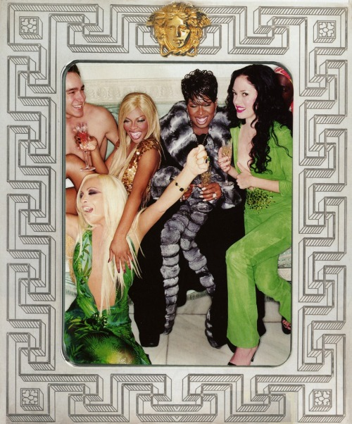 Donatella, lil'kim, Missy and Rose by David Lachapelle
