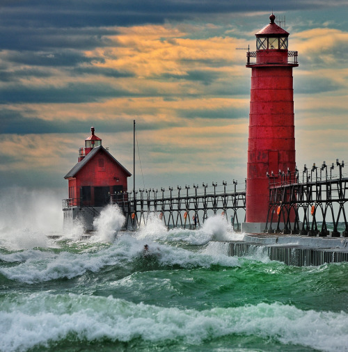 Grand Haven, Michigan Lighthouses