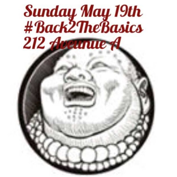 #Back2TheBasics live in #NYC w @hakimgreen @Rkitech @gramzunkut Sunday 9pm #AlphabetCity #Bar #HipHop #Shots #DrinkItUp #AntiIndustry (at Fat Buddha)