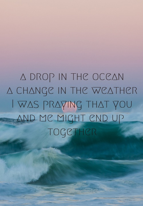 pressingluck:  a drop in the ocean on @weheartit.com - http://whrt.it/UG28If