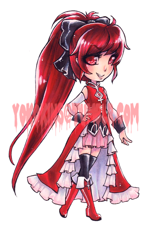Last Commission for Starlight Deco Dream!Kyoko from Puella Magi Madoka Magica. This series is really one of my faves, and so happy to be able to draw them for Kyandi's shop!