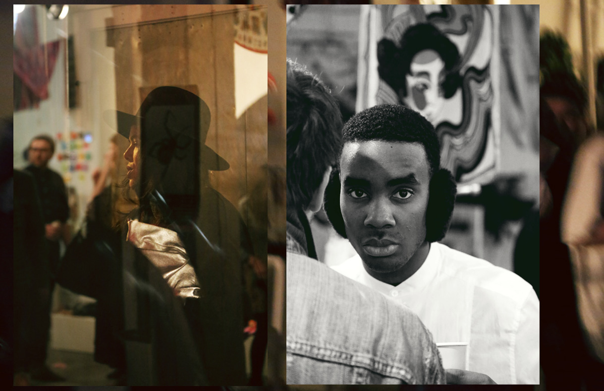 Kaleidoscope Vision One Year Anniversary Party, Caught Portraits (Diptych) // February 2, 2013