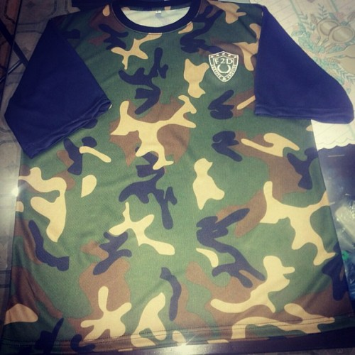 NEW VERSION. DROPS WEEKEND!! #f2d #camo #tee #f2dclothing #fresh2def #comingsoon #ss13 #summer #style #streetwear #surviveandprovide