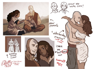 nukilik-fandom:  Kataang madness part III I am deeply sorry as usual