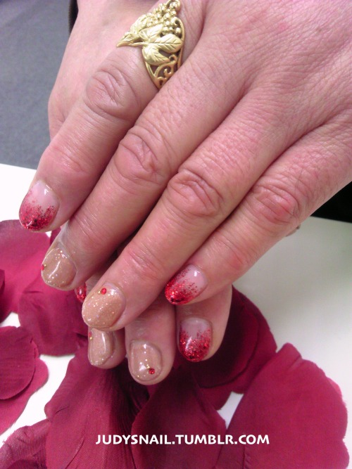 For one of our new customers! Thanks for coming to Judy's Nail.  Merry Christmas!
