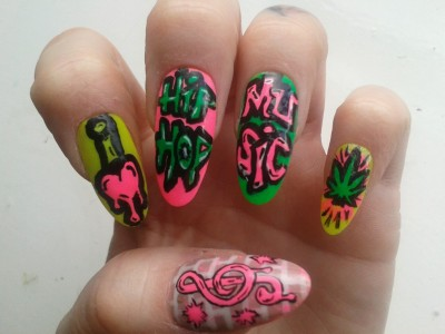 attitude-nails:  I love hip hop music!