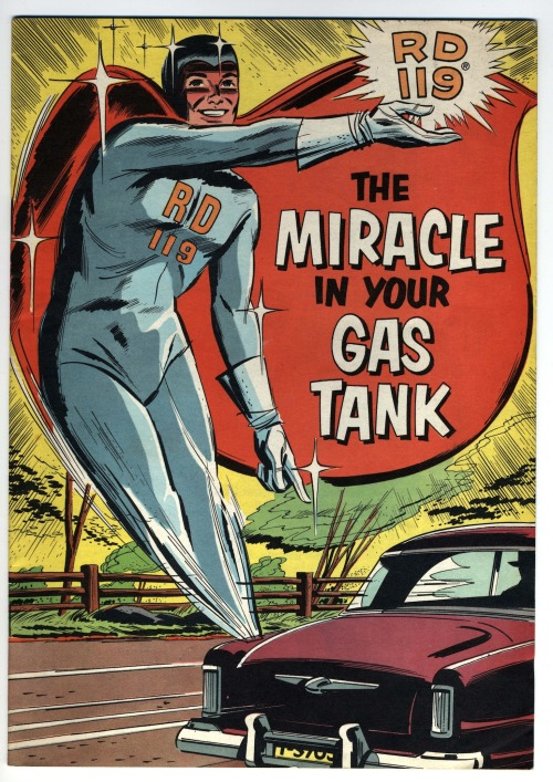 elevenacres:  The Miracle in your gas tank