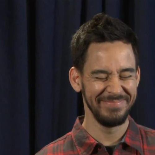 Randomly needed some Shinoda on my dash now.