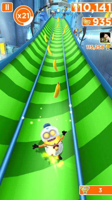 free running game