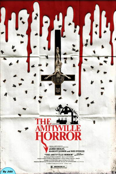fuckyeahmovieposters:  The Amityville Horror by Jidé