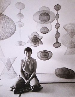 vuls:   Ruth Asawa Life magazine feature 1954