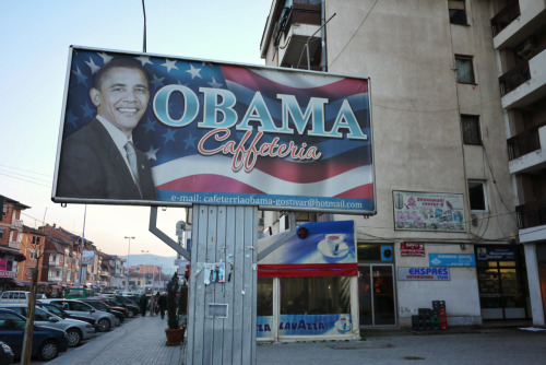 The Obama Cafe Gostivar, Macedonia