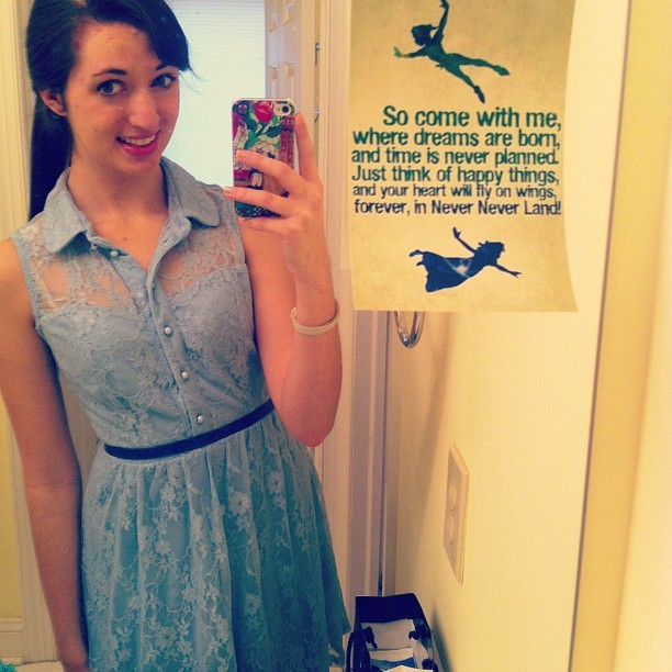 the-lostprincess:  it's march - 1. Wendy darling #disneybound #marchchallenge