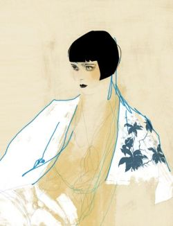 arteysentimiento:  Louise Brooks Draw