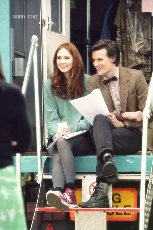 sunnyedge:  4/100 - 100 Pictures from Filming Doctor Who