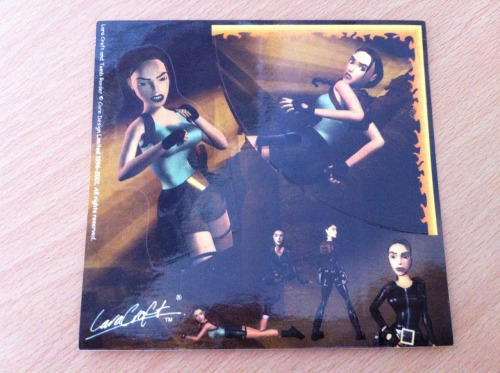 Tomb Raider Stickers  ~TRK's Raider Collection~