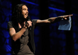 Grooming for Russell Brand by JoJo for The Secret Policeman's Ball 2012