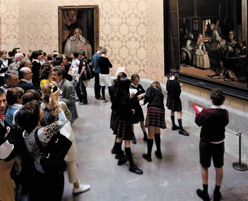 Thomas Struth Something Different, 2005  'I spent a week at the Prado trying to get this, doing eight hours a day'  good interview here