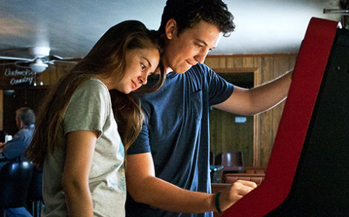 "The Spectacular Now (2013)  Sutter Keely (Miles Teller) lives in the now. It's a good place for him. A high school senior, charming and self-possessed, he's the life of the party, loves his job at a men's clothing store, and has no plans for the future. A budding alcoholic, he's never far from his supersized, whisky-fortified thirst-master cup. But after being dumped by his girlfriend, Sutter gets drunk and wakes up on a lawn with Aimee Finicky (Shailene Woodley) hovering over him. She's different: the ""nice girl"" who reads science fiction and doesn't have a boyfriend. While Aimee has dreams of a future, Sutter lives in the impressive delusion of a spectacular now, yet somehow, they're drawn together. This adaptation of Tim Tharp's novel The Spectacular Now captures the insecurity and confusion of adolescence without looking for tidy truths. Young actors rarely portray teens with the maturity that Teller and Woodley display, and they are phenomenal together. THE SPECTACULAR NOW is a funny, compassionate and poignant look at young adulthood, written by (500)DAYS OF SUMMER scribes Scott Neustadter and Michael H. Weber, directedby James Ponsoldt (SMASHED) and produced by Tom McNulty, Shawn Levy, Andrew Lauren and Michelle Krumm.  Cast: Mary Elizabeth Winstead, Shailene Woodley, Kyle Chandler, Jennifer Jason Leigh Follow this blog for the neverending list of all the teen movies ever made!"