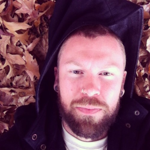 #forever #autumn #Melbourne #beard #leaves