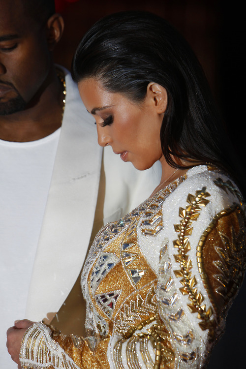 lifeandtimesofbanks:  Best Kanye x Kim Outing To Date