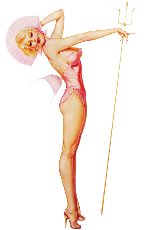Illustration by Alberto Vargas c. 1948