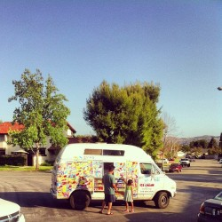 ICE CREAM TRUCK SEASON IS BACK! #icecream #california