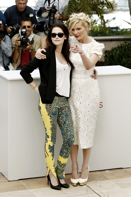 Kristen Stewart and Kirsten Dunst at Cannes