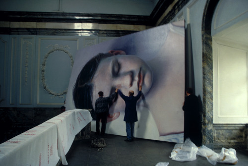 Kindskopf by Gottfried Helnwein  Previously